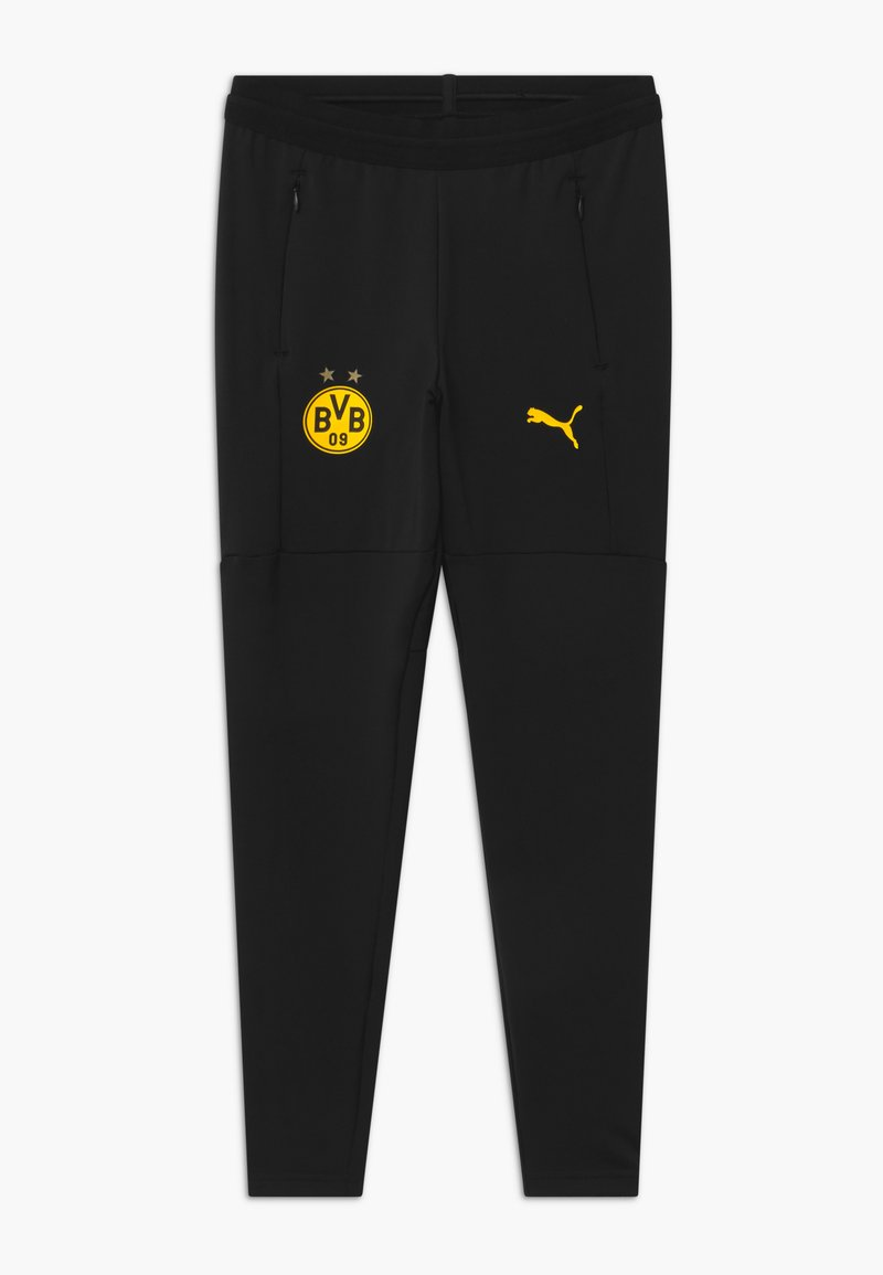 Puma - BVB BORUSSIA DORTMUND TRAINING - Club wear - black/cyber yellow