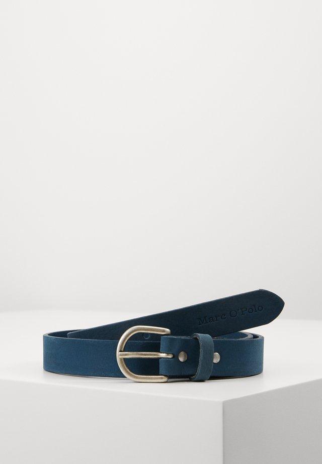 Belt - bright indigo