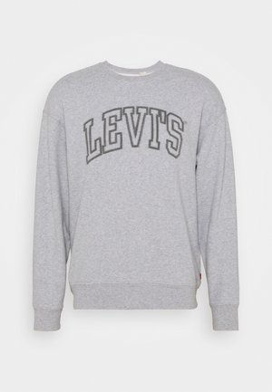 GRAPHIC CREW UNISEX - Felpa - midtone heather grey