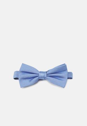 SOLID RIBBED BOWTIE - Motýlek - blue