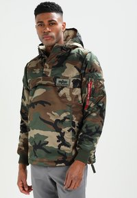 Alpha Industries - ANORAK - Jas - woodland - 0