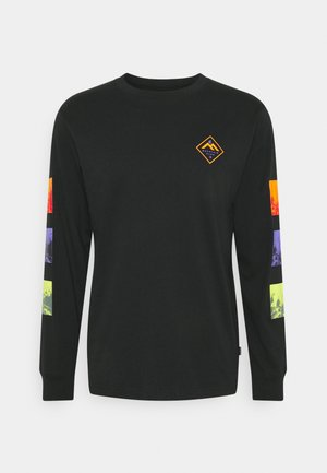 MOUNTAIN CLUB TRYPTIC GRAPHIC LONG SLEEVE - Maglietta a manica lunga - black
