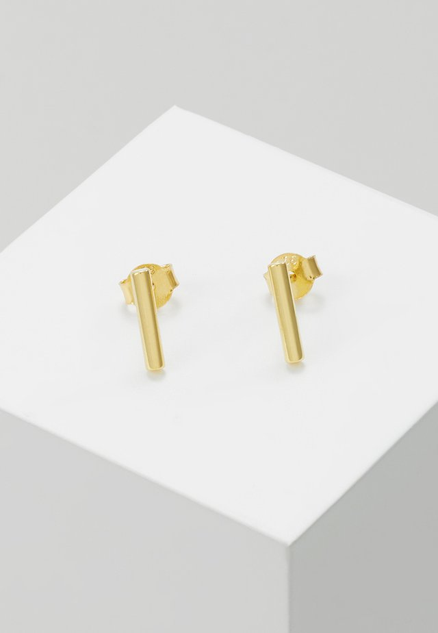 STICK - Earrings - gold-coloured