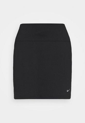 VICTORY SOLID SKIRT - Sports skirt - black/dust
