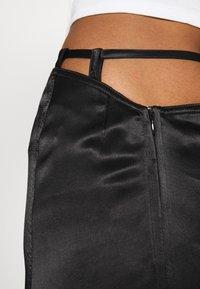 Weekday - TYRA SKIRT - A-line skirt - black - 4