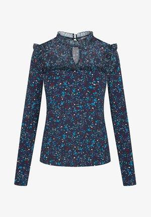 Long sleeved top - tintenblau