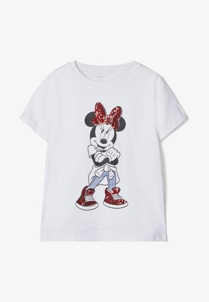 T-shirt print - bright white