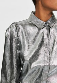 Selected Femme - Button-down blouse - silver - 4