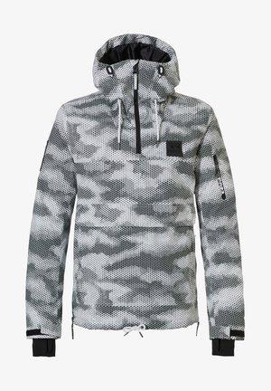 Winter jacket - honeycomb camo white