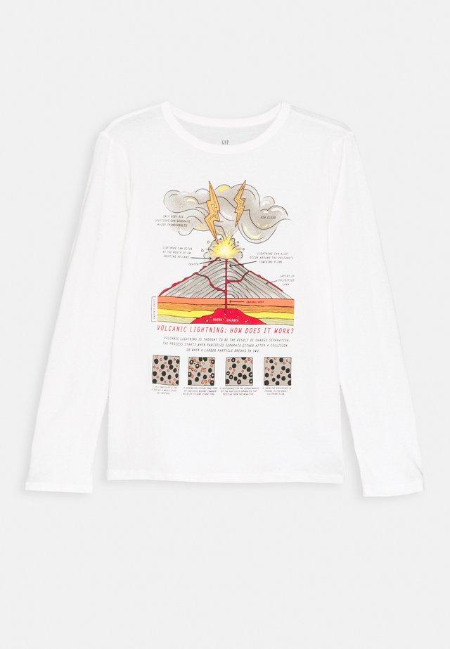 BOY  - Camiseta de manga larga - new off white