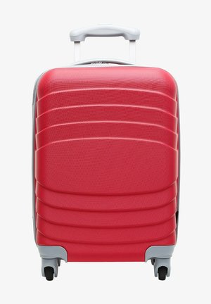Wheeled suitcase - coral