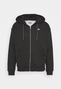 Levi's® - PREMIUM HEAVYWEIGHT ZIP - Zip-up hoodie - black bird heather - 4