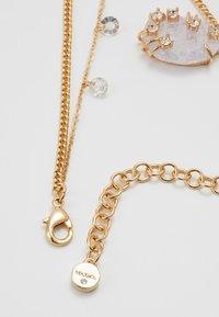 MAX&Co. - ADORARE - Necklace - white// light gold-coloured - 2