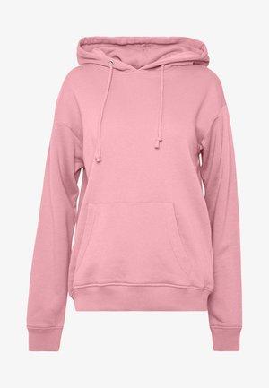 BASIC HOODY - Mikina skapucí - pink