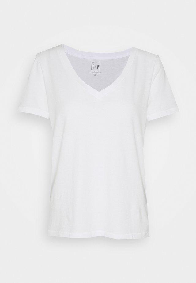 T-shirt basic - fresh white