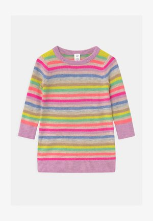 TODDLER GIRL HAPPY  - Gebreide jurk - multi-coloured