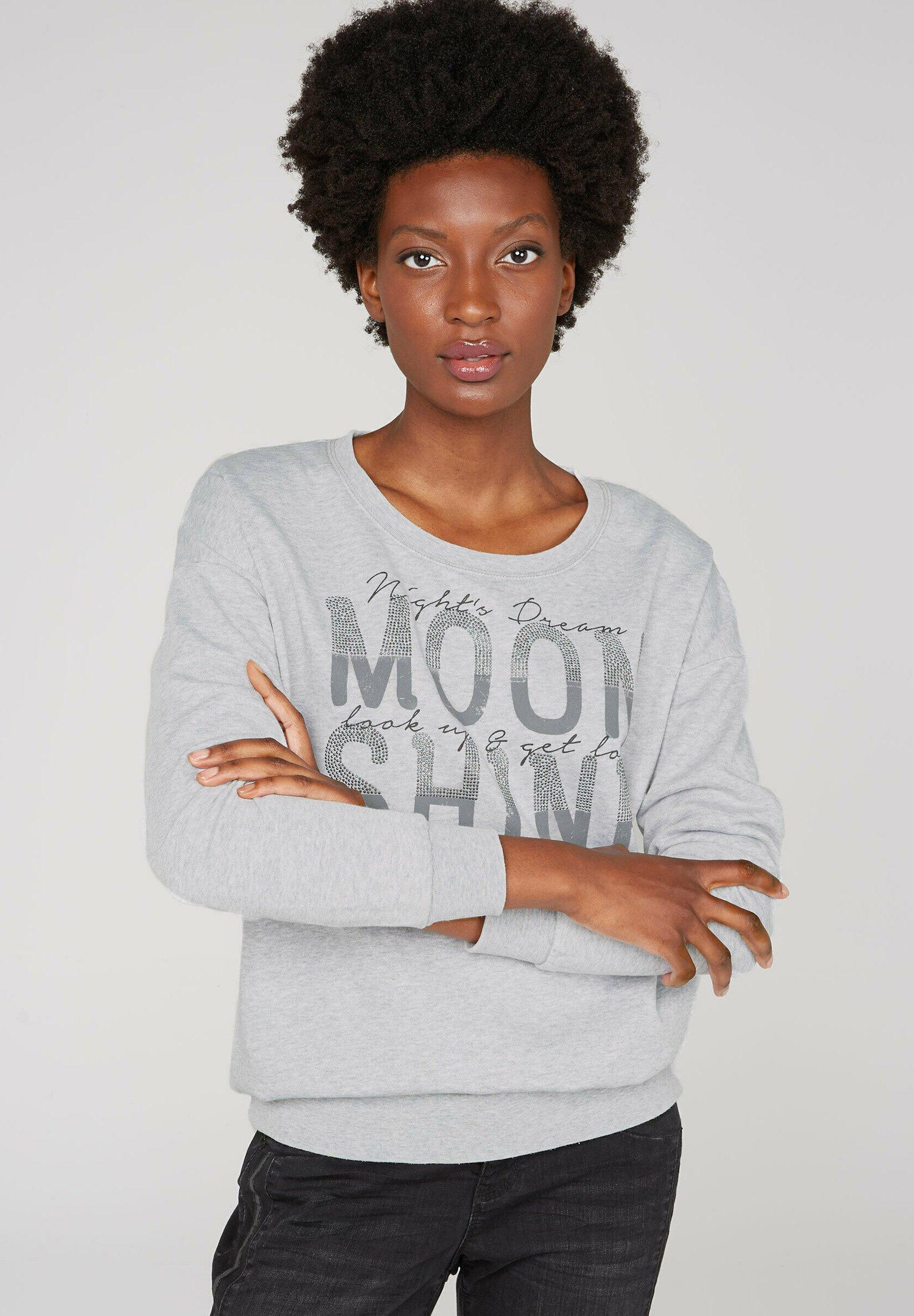 Damen MIT AUSBRENNER-EFFEKTEN - Sweatshirt
