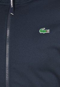 Lacoste Sport - TENNIS JACKET - Veste de survêtement - navy blue/green - 5