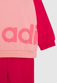 adidas Performance - ESSENTIALS SPORTS SET UNISEX - Chándal - glow pink/power pink/signal pink - 3