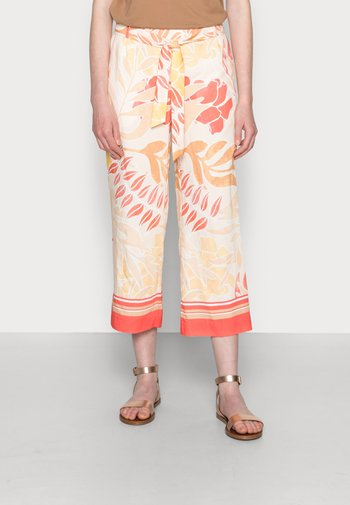 Trousers - coral