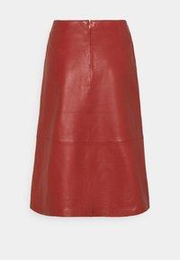 STUDIO ID - FLORENCE MIDI SKIRT - A-line skirt - bruschetta - 6