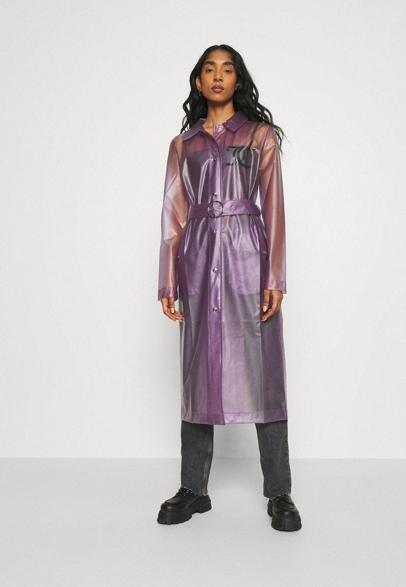 Juicy Couture - VIRGINIA SHEER COAT - Manteau classique - pastel lilac