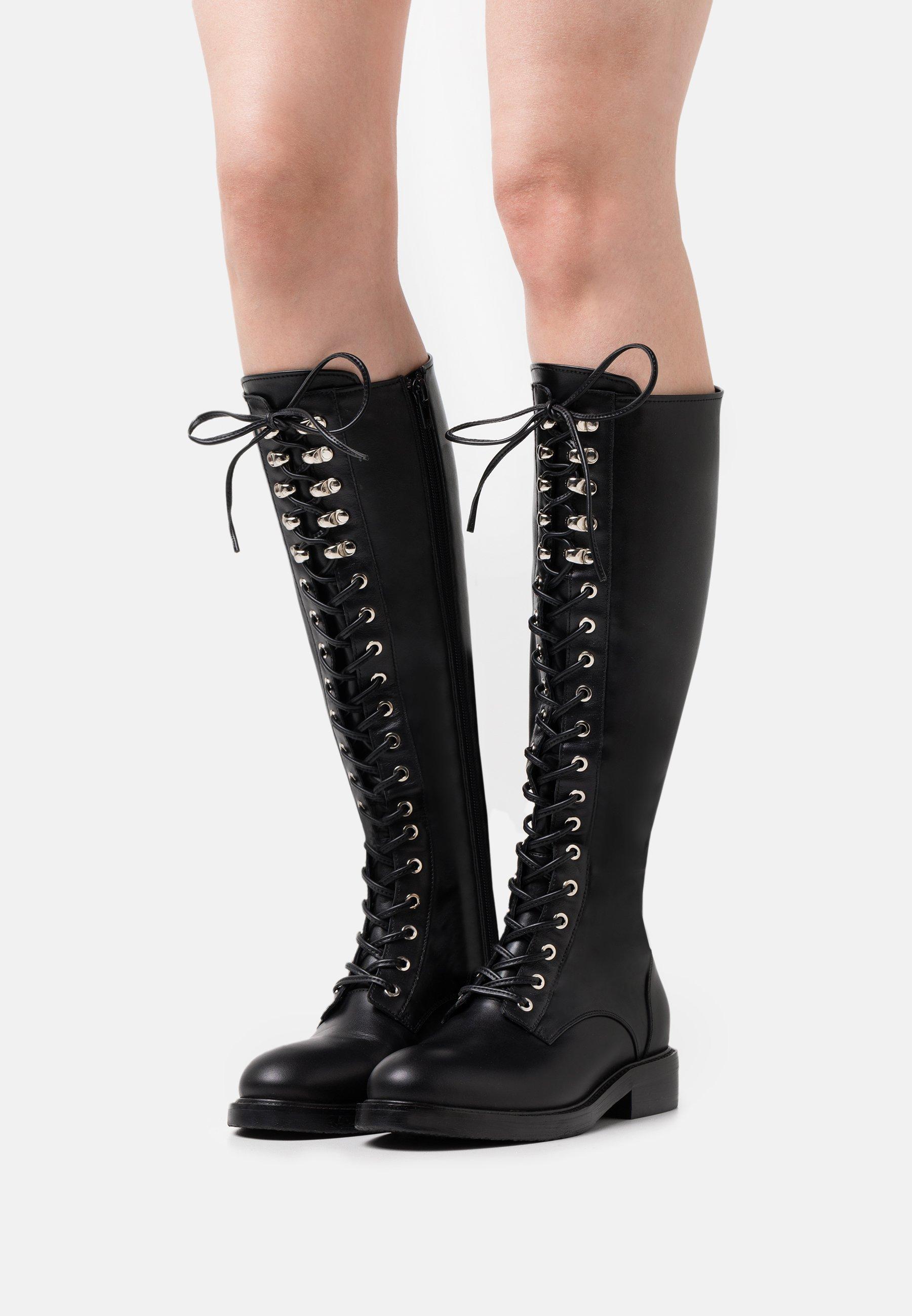 Women ARKIN - Lace-up boots - black