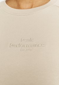Peak Performance - ORIGINAL LIGHT CREW - Sweatshirt - celsian beige - 4