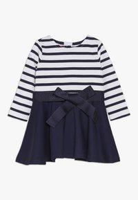 Polo Ralph Lauren - PONTE STRIPE - Jerseykleid - french navy/white - 0