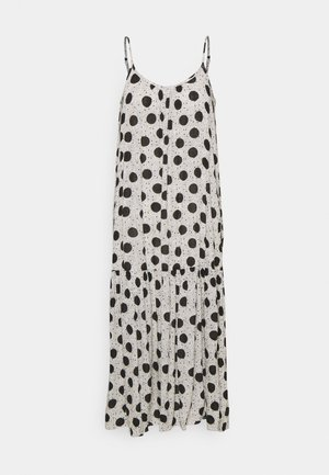 SPOT SLIP DRESS - Day dress - grey