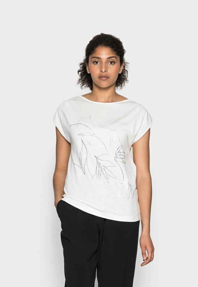 LINE - T-shirt z nadrukiem - white