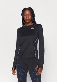 adidas Performance - REFLECTIVE - Camiseta de deporte - black - 0