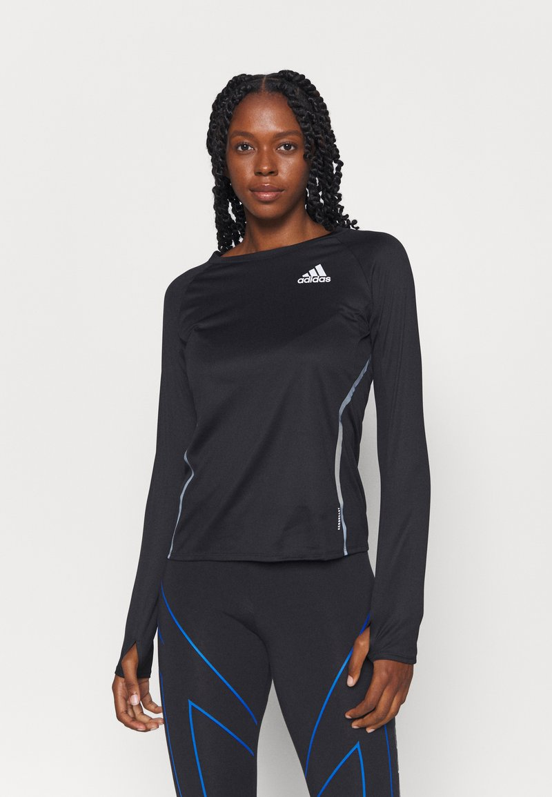 adidas Performance - REFLECTIVE - Camiseta de deporte - black