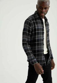 DeFacto - OVERSHIRT - Shirt - black - 3