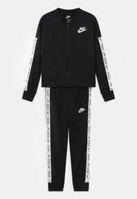 Nike Sportswear - SET - Tracksuit - black/white - 1