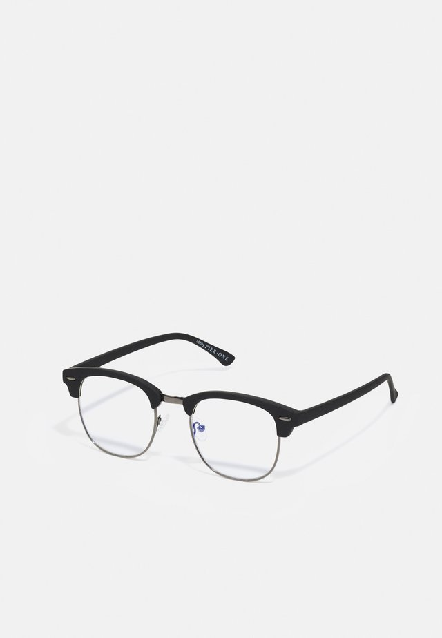 BLUE LIGHT GLASSES UNISEX - Overige accessoires - black