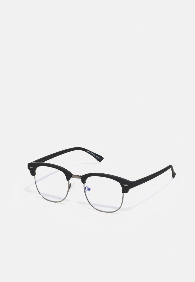 Pier One - BLUE LIGHT GLASSES UNISEX - Blue light glasses - black
