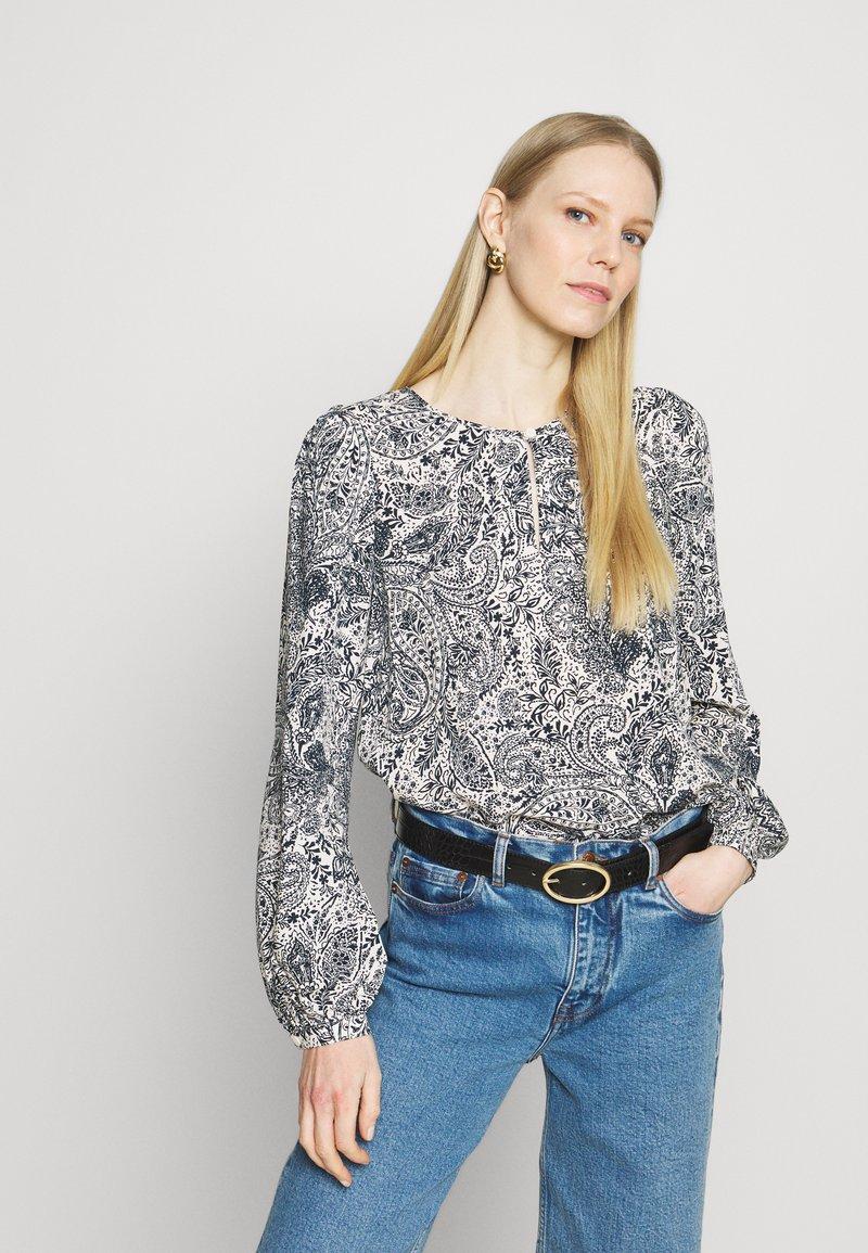 Esprit - FLUENT - Bluzka z długim rękawem - off white