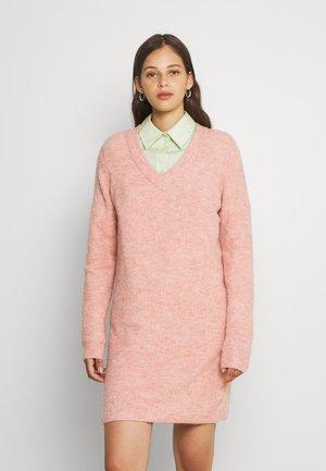 PCELLEN V NECK DRESS - Jumper dress - misty rose