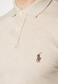 Polo Ralph Lauren - SLIM FIT MODEL - Polo - beige/sand/white - 5