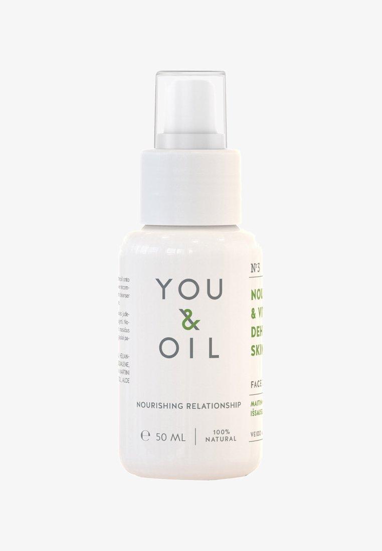 YOU & OIL - FACE OIL NOURISH & VITALISE DEHYDRATED SKIN 50ML - Face oil - -