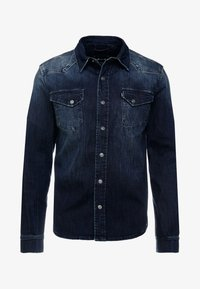 Tigha - FRED - Camisa - mid blue - 4