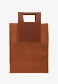 CARRY BIG BAG - Tote bag - camel