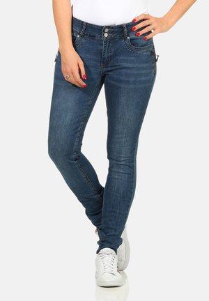 TUMMYLESS - Slim fit jeans -  blue