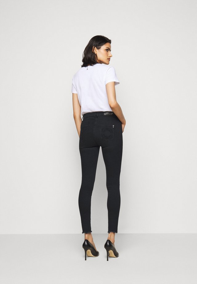LOW WAIST OPEN  - Jeans Skinny Fit - dark cement