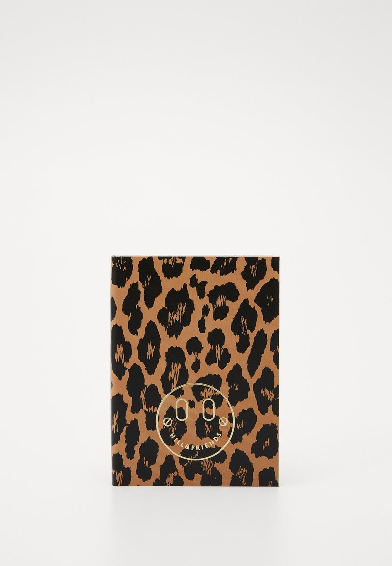 Hill & Friends - SMALL NOTEBOOK BOXED - Jiné doplňky - black/brown