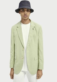 Scotch & Soda - Blazer jacket - green pearl melange - 3