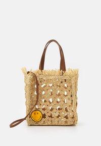 sandro - TOTE - Handbag - ecru - 1