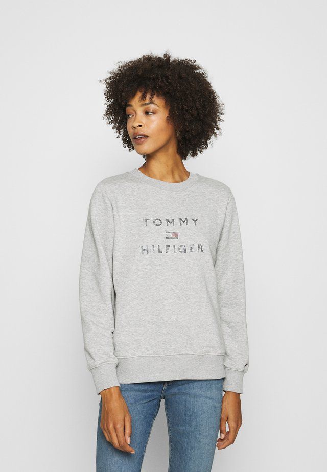 TIARA ROUND - Sweatshirt - light grey heather