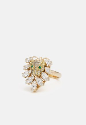 CLUSTER WITH LEOPARD - Ring - gold-coloured